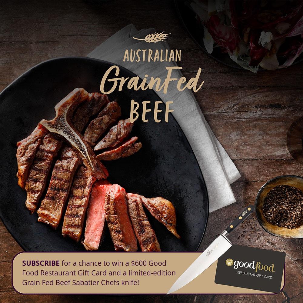 Launch Grain Fed Beef Website Giveaway