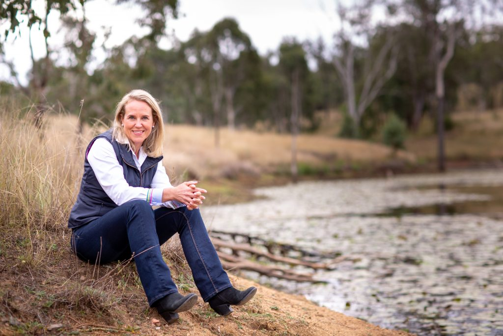 Grain Fed Beef Ambassador, Barb Madden