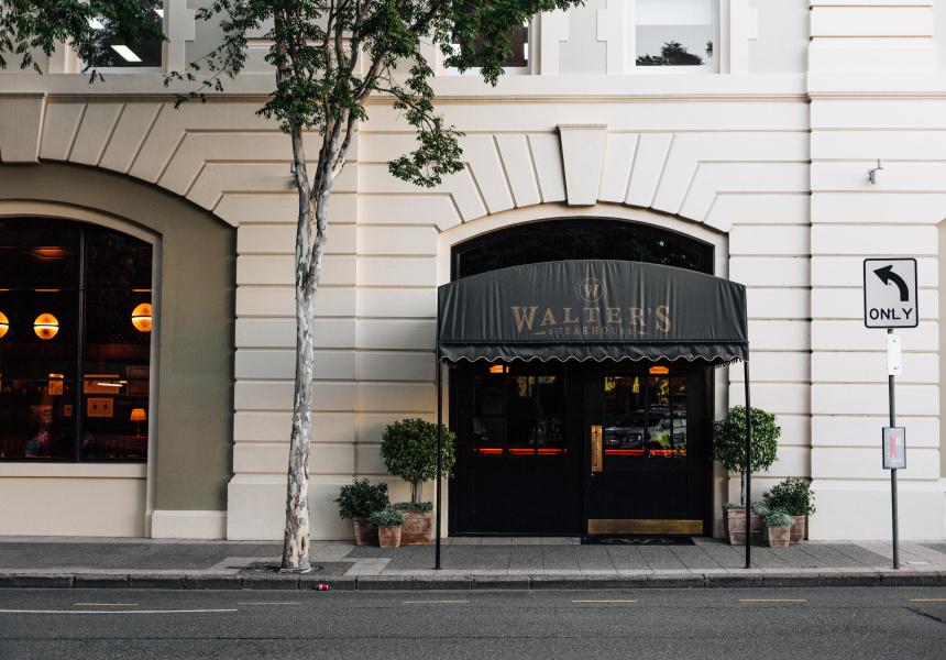 Walters Steakhouse Broadsheet